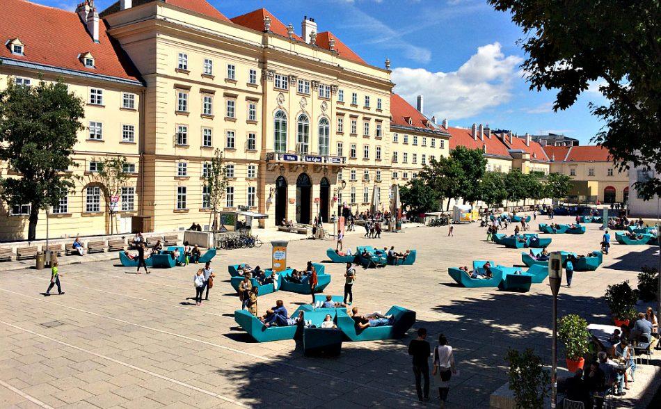 Vienna's Josefstadt and Neubau: Museumsquartier