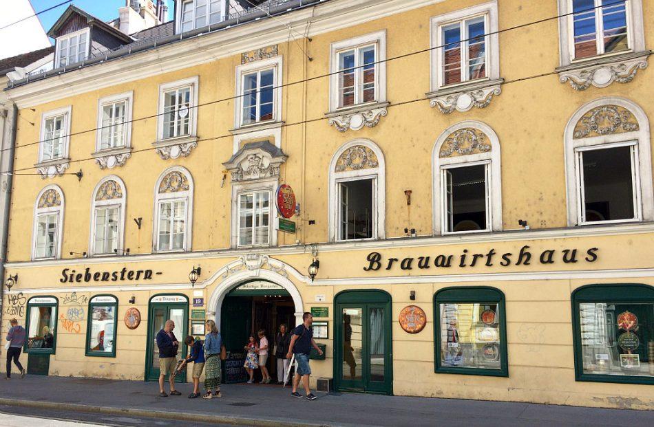Vienna's Josefstadt and Neubau: Siebensternbraeu