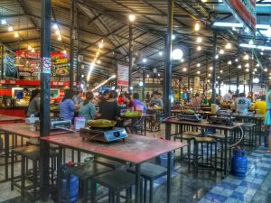 hot pot restaurant - Chiang Mai University Market