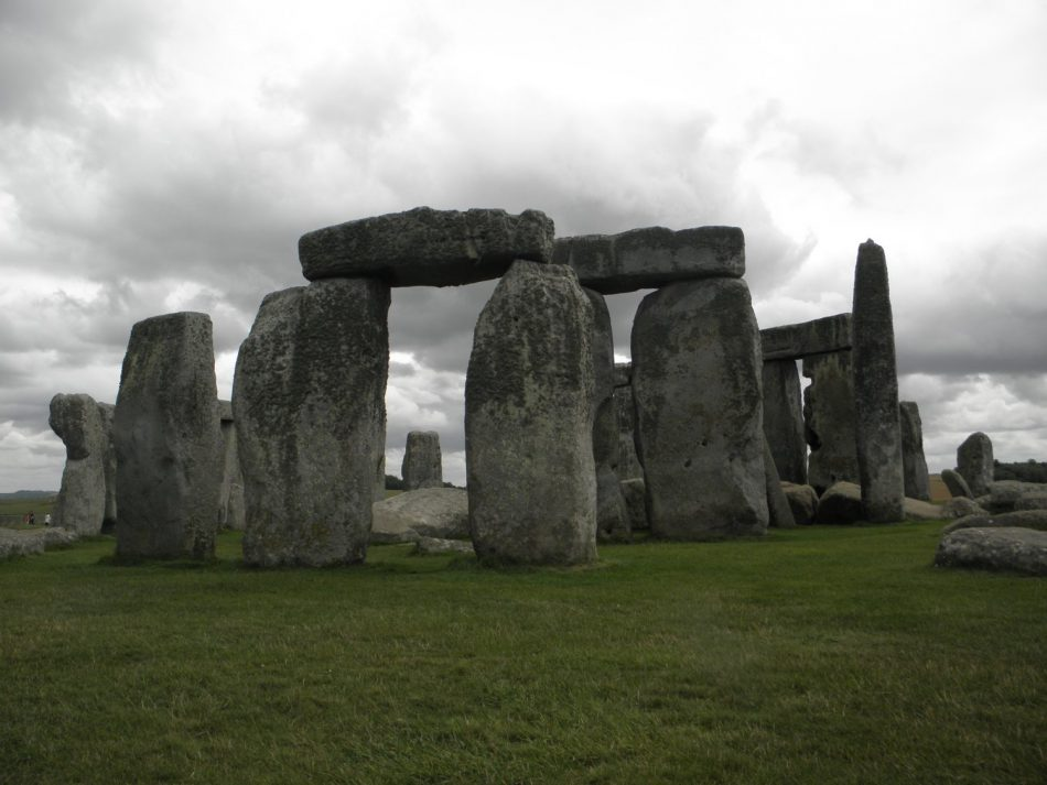 I think I figured out the secret. (Stongehenge, England.)