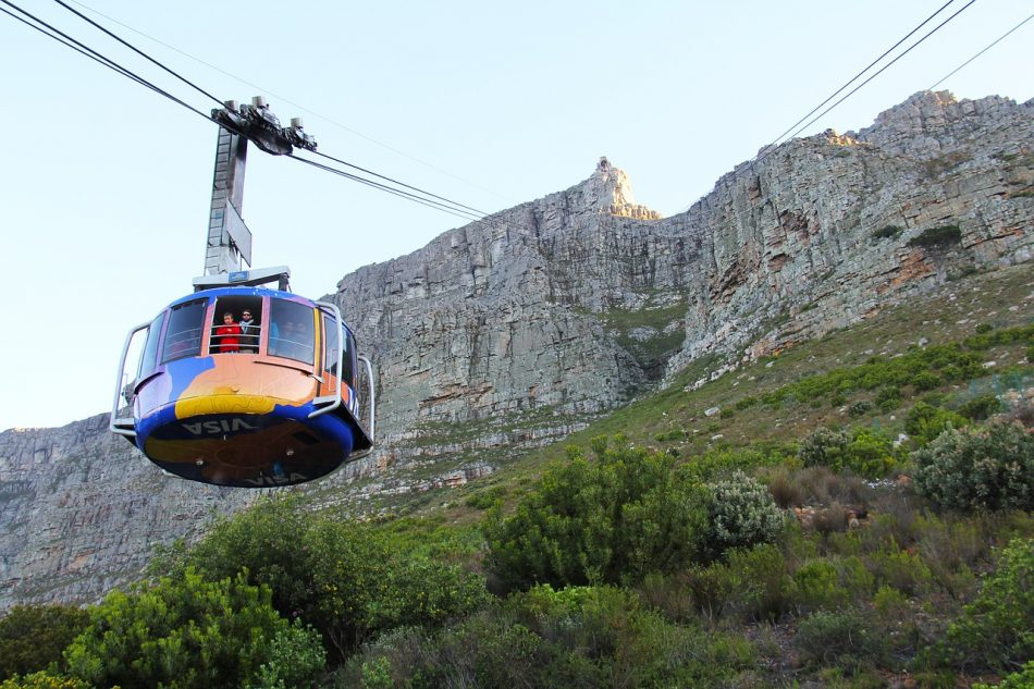 Attractions in Cape Town.