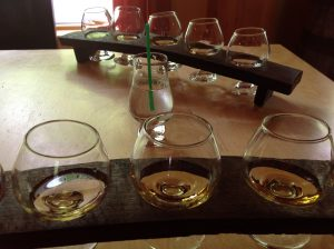 Cape Breton - Glenora Distillery and Inn - whiskey tasting