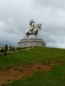 40-meter monument to Chinggis (Genghis) Khan