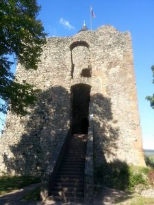 The keep of the Saarburg castle, standing guard over the Saar for more than a thousand years