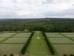 View from the top of the Verdun memorial