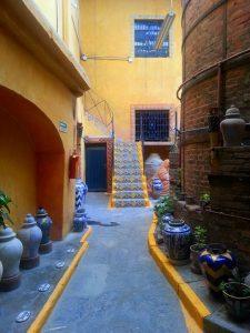 Courtyards of Puebla