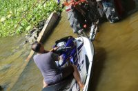 Jet Skiing the Chao Praya River, Bangkok