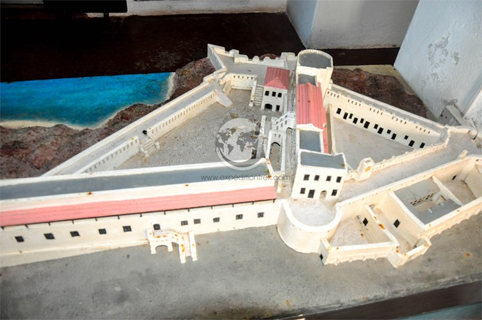Cape Coast Castle Building Plan
