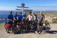 A bike ride adventure across Great Britain