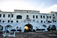 Cape Coast Castle courtyard