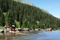 Backpacking to Conundrum Hot Springs
