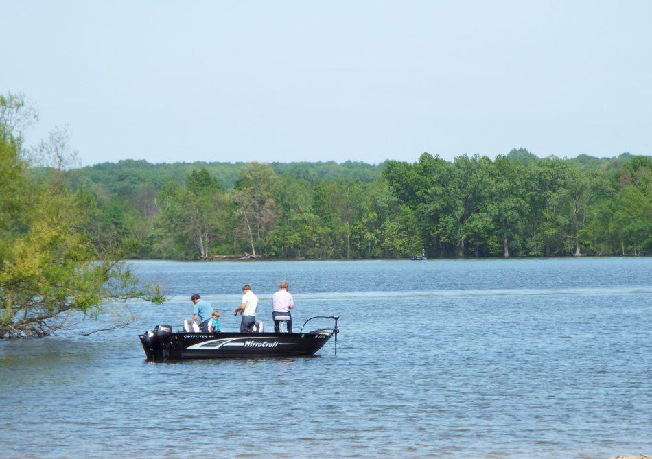 Mosquito Lake speedboat