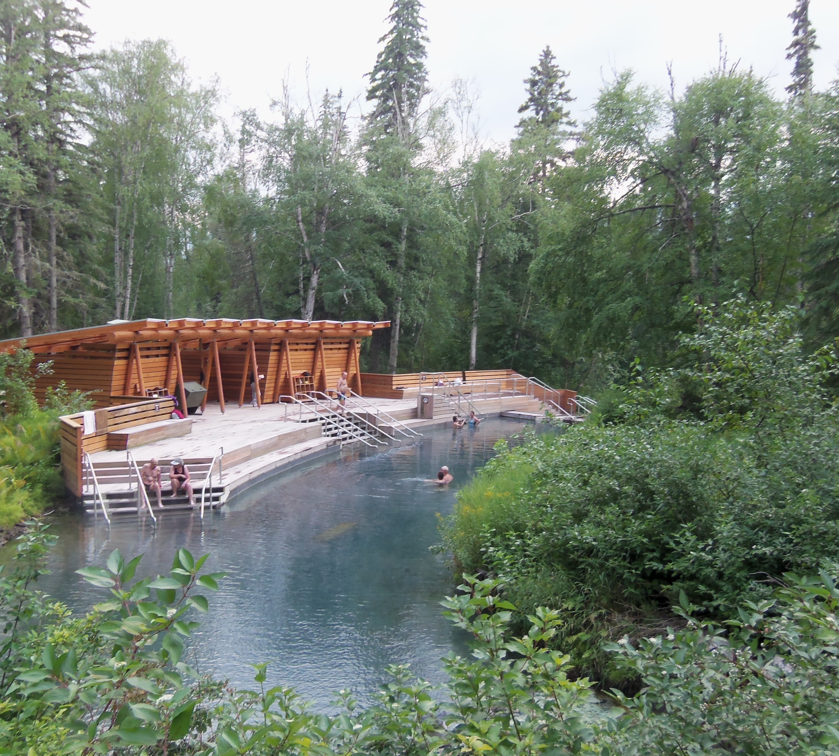 liard river hot springs a must see on the alaska highway dave s rh davestravelcorner com