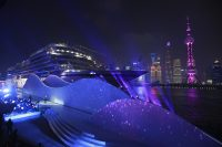 Vikings Fourth Ocean Ship Named in Shanghai