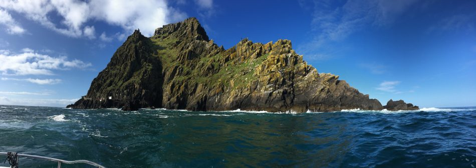Skellig Michael in Ireland