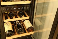 "NewAir 15"" Built-in 29 Bottle Dual Zone Compressor Wine Fridge"