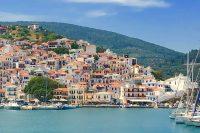 Dancing in the Dark on Greece's Skopelos Island