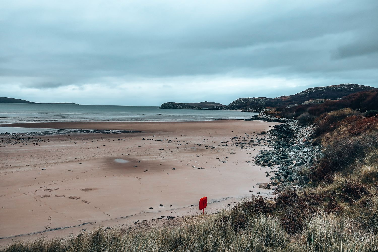 beach in Scotland