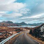 driving through Scotland