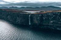 waterfall on The Isle Of Skye