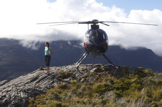 Ashley & Helicopter