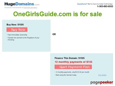 Gone Girls Guide