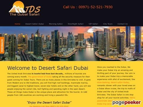 The Dubai Safari