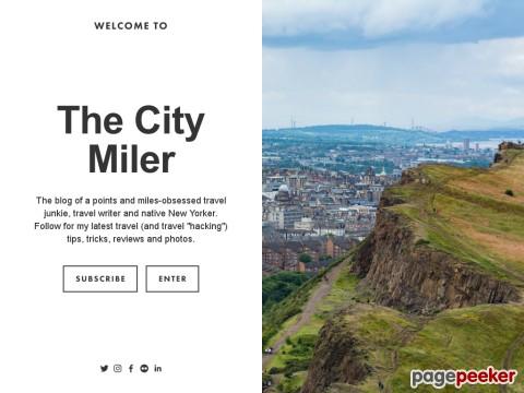 The City Miler