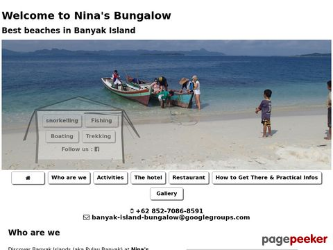 Banyak Island Bungalow