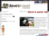 Daves Backpackers List