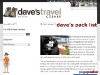 Daves Pack List