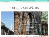 The City Sidewalks