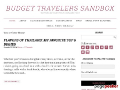 Budget Travelers Sandbox