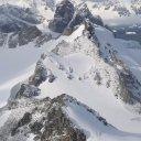 View from top of Spigot Peak, Antarctica