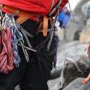 Mountain climbing in Antarctica