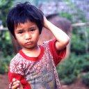 Child near Chiang Mai Thailand