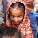 Girl in slums of Dhaka