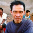 Man in Lao Village near Vang Vieng