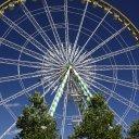 Huge Ferris Wheel in Luxembourg City