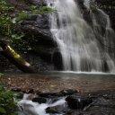 Waterfall in jungles of Brunei