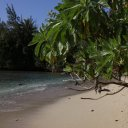 An incredible secluded beach on Oahu, Hawaii\'s most populated island