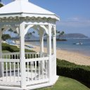 White Pagoda at one of Oahu\'s resorts