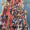 Close-up of the Walkway leading to the Golden Temple