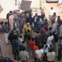 At the Varanasi Fort - Bollywood Movie Director