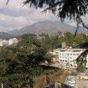 Himalayas from Dali Lama's residence