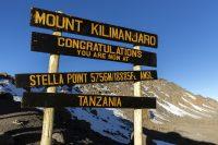 Kilimanjaro, Tanzania – Altitude