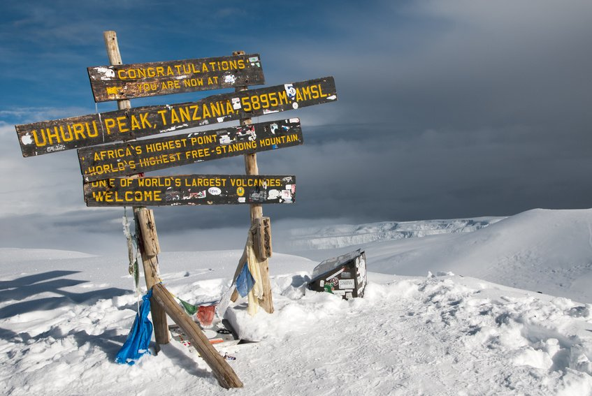Summit-Kilimanajaro