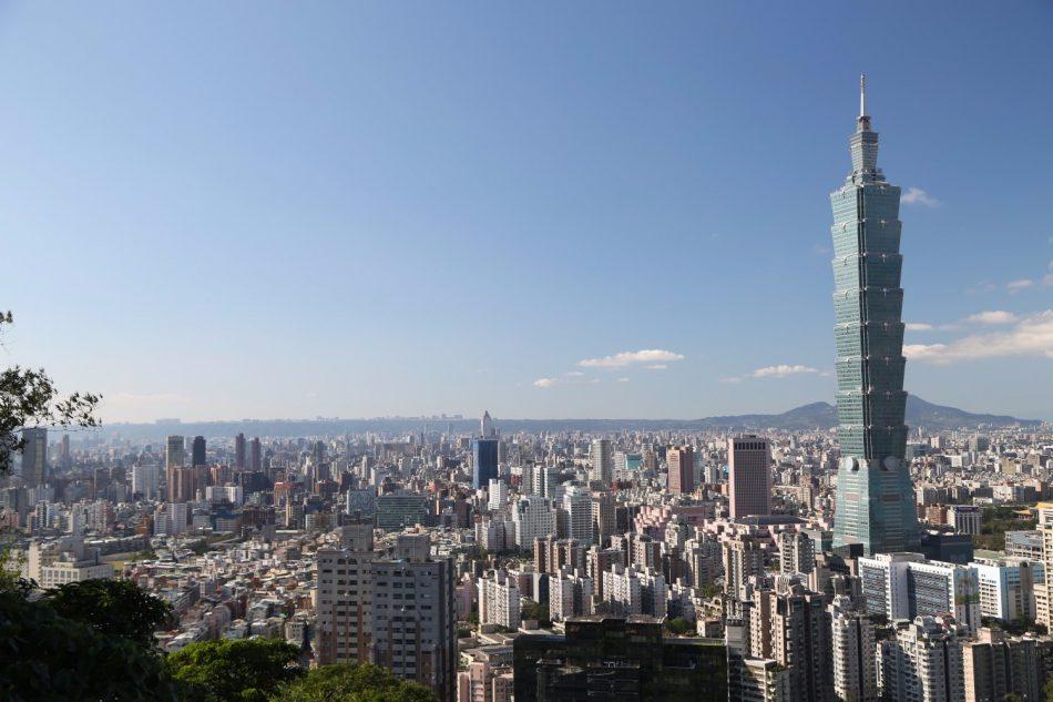 View of the Taipei 101