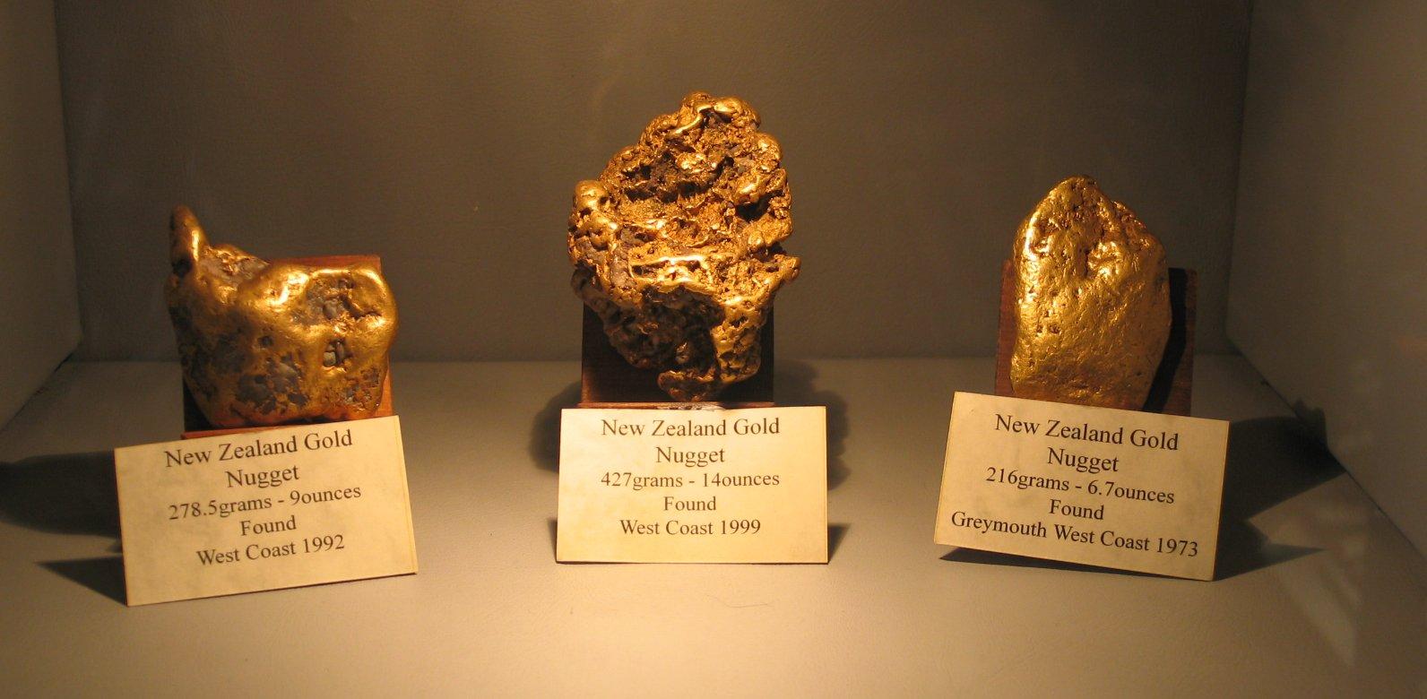 Gold-New-Zealand