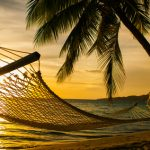 fiji hammock sunset